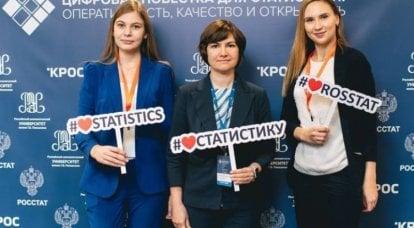 俄罗斯统计局发布有关俄罗斯GDP下降的数据