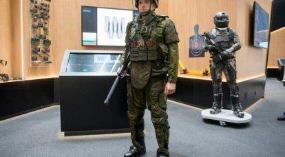 """Um conjunto de equipamentos """"Warrior"""" receberá um exoesqueleto e um capacete inteligente"""