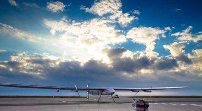 Solar Impulse 2 wird ein atmosphärischer Satellit für die US Navy