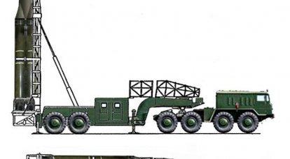 """Complexo de mísseis operacionais táticos 9K71 """"Temp"""""""
