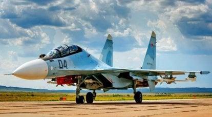 Su-30CM बहुउद्देशीय लड़ाकू। इन्फ़ोग्राफ़िक्स