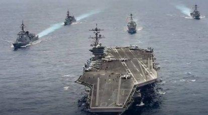 """""""Um die regionale Stabilität aufrechtzuerhalten"""": Die Vereinigten Staaten schickten zwei AUGs gleichzeitig an das Südchinesische Meer"""