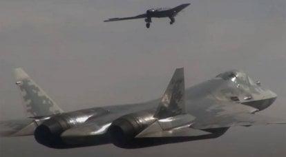 """UAV """"Okhotnik"""" aumentará a segurança do caça Su-57 durante operações de combate - Observador militar latino-americano"""