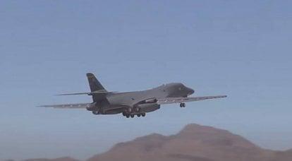 部署到挪威的美国空军B-1 Lancer在巴伦支海进行首次巡逻