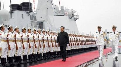 पीएलए नौसेना दुनिया का सबसे बड़ा बेड़ा बन जाता है