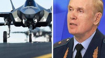 El piloto Popov ridiculizó los intentos de Estados Unidos de asustar al F-35 de Rusia