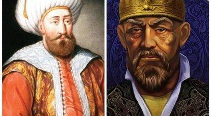 Timur ve Bayazid I. Dünyayı bölmeyen büyük generaller