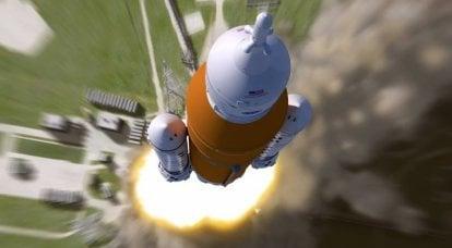 एसएलएस हैवीवेट। अमेरिकी अंतरिक्ष यात्री मंगल पर पहुंचे। 2 का हिस्सा