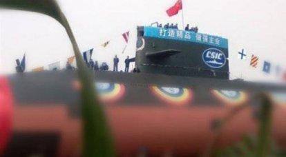 La Chine a copié tous les derniers projets des sous-marins diesel-électriques russes, et éventuellement de Lada