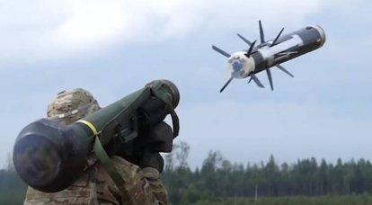 Kiev vai implantar American Javelin ATGM no Donbass