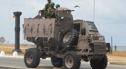 """La """"Buffalo"""" più pericolosa al mondo. BTR Buffel"""