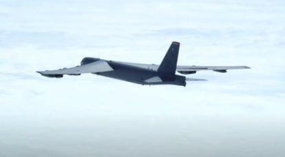 """El Su-35S ruso """"interceptó"""" al bombardero estratégico estadounidense B-52H"""