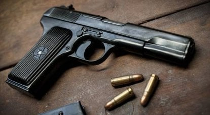 What do the TT pistol and Browning pistols have in common?