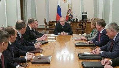 关于俄罗斯联邦安全理事会22七月2014会议