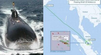 """潜艇""""查克拉""""回家。 我们水下出口的成就和挑战"""