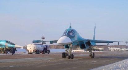 俄罗斯一线轰炸机Su-34将覆盖北海航线