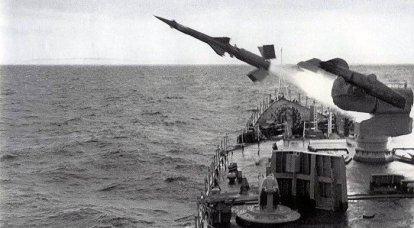 """Sistema de misiles antiaéreos de a bordo """"Wave"""". Infografia"""