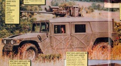 HMMWV小口径大炮设备项目
