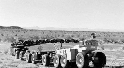 Un transportador de vapor viaja a través de África, mientras que un tanque moderno ultralargo puede viajar a través de la tundra.