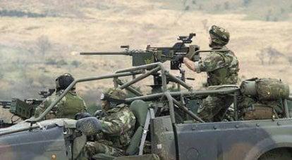 Armée irlandaise: sélection et entraînement