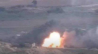 Ministério da Defesa da Armênia informa sobre avião abatido da Força Aérea do Azerbaijão