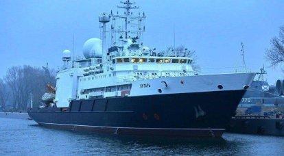 """Der russische """"Kommunikationsjäger"""" ging nach einer geplanten Reparatur zur See"""