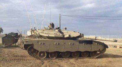 L'armée israélienne a l'intention de dire au revoir au char Merkava Mark III