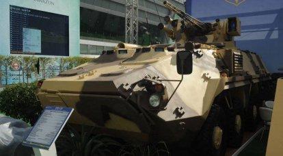 新的乌克兰制造的BTR-4MV装甲运兵车已被采用