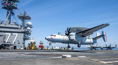 La Armada francesa compra el E-2D Advanced Hawkeye
