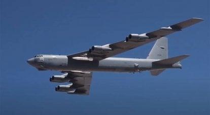 Aux États-Unis, ils ont parlé de tester un prototype de missile hypersonique AGM-183A sur un bombardier B-52H