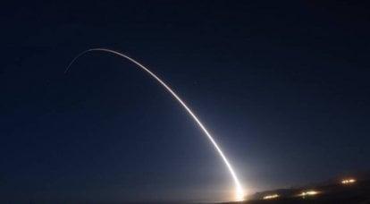 ABD 7 milyon dolarlık Minuteman III roketi fırlattı
