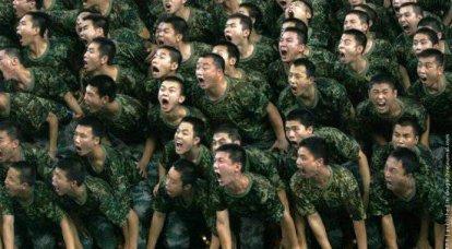 現代の軍隊の再創造と創造の途上にある中国