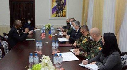 モルドバ国防省の顧問に任命された米国市民