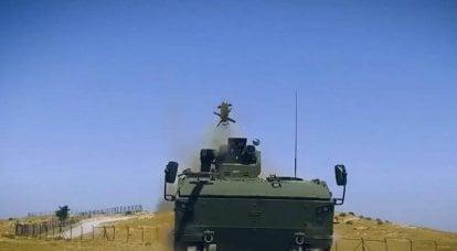 """तुर्की ने कपलान -10 बख्तरबंद वाहन पर रूसी एटीजीएम """"कोर्नेट-ई"""" का उपयोग दिखाया"""