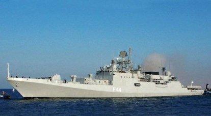 रूसी नौसेना के लिए एडमिरल एसेन फ्रिगेट का निर्माण जुलाई में यंतर शिपयार्ड में शुरू होगा