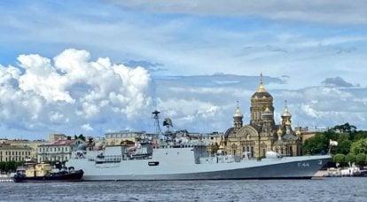 Hint Donanması'nın fırkateyninde, Rus yapımı elektronik savaş sistemi, Hint versiyonuyla değiştirildi.