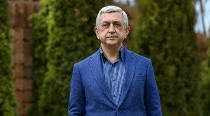 Ermenistan'ın eski başkanı, ülkede yaşanan olayları devletin yıkımı olarak nitelendiriyor
