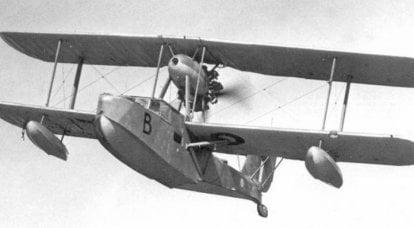 लड़ाकू विमान। एक ब्रिटिश भारी क्रूजर का सबसे अच्छा दोस्त