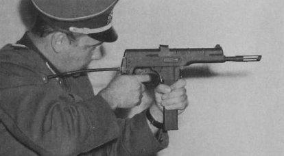 Simple mais cher. Pistolet mitrailleur WG-66 (RDA)