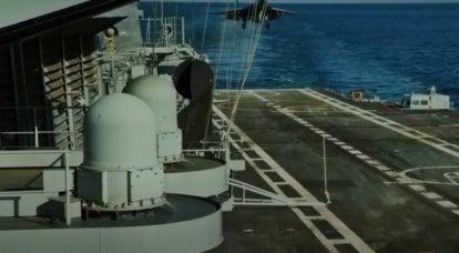"""En India, hubo un incendio en el portaaviones """"Vikramaditya"""""""