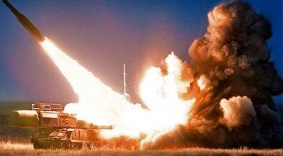 """陆军自行式防空导弹系统""""Buk"""""""
