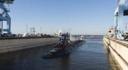 """""""El primero en recibir misiles hipersónicos"""": Estados Unidos lanzó el 21 submarino nuclear multipropósito de la clase Virginia."""