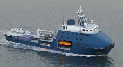 プロジェクト03182の最初のタンカーがテストされています