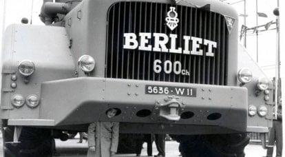 Berliet T100: uragano in francese