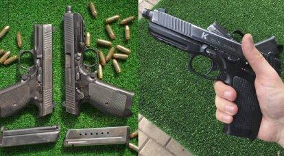 Rusya'da ordu tabancası. 2'in bir parçası