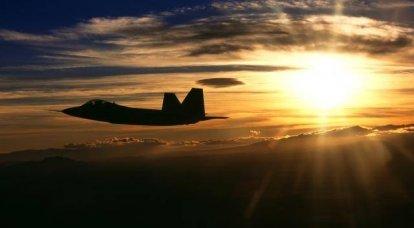 F-22ラプターとF-23ネラプター。 うまくいかなかったソリティア