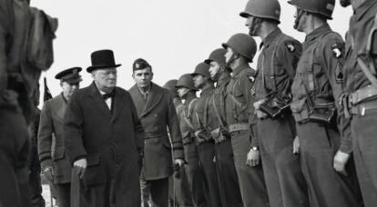 विंस्टन चर्चिल। द्वितीय विश्व युद्ध