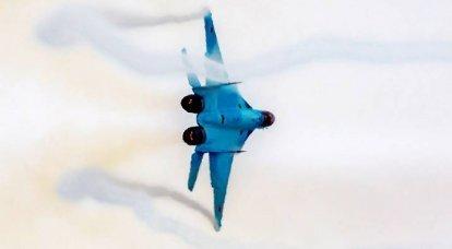 En yeni savaşçı MiG-35'in testleri: özel çekimler