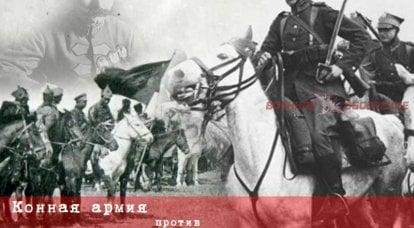 जनरल क्रजोवस्की के समूह के खिलाफ कैवेलरी सेना