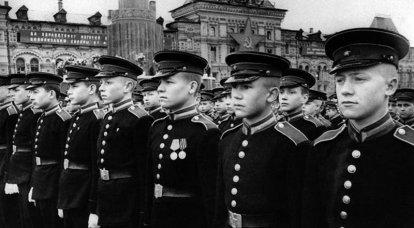 Büyük Vatanseverlik Savaşı'ndan sonra SSCB Ordusu. Savaştan barışa ve geri